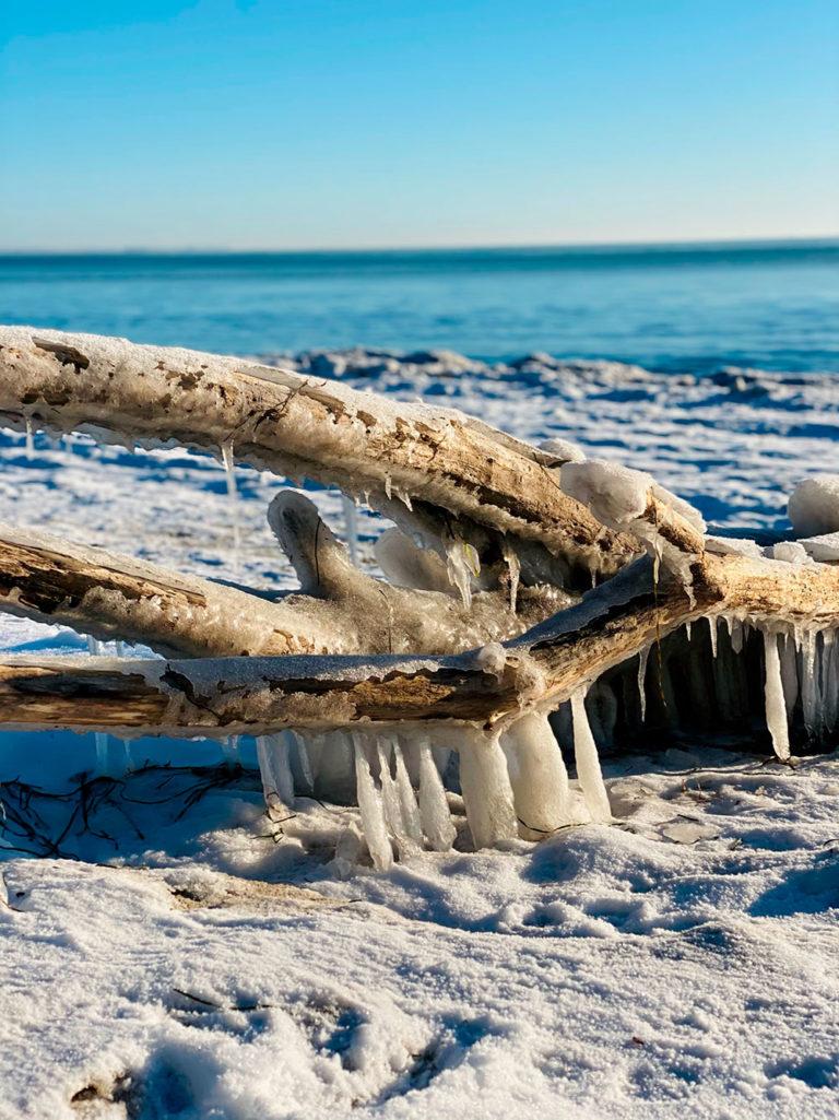 Is ved havet